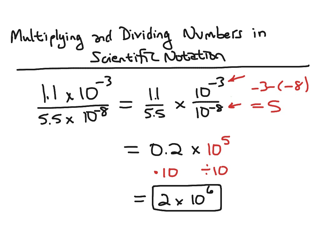TUF Technical Math Chapter 2 – Multiplying and Dividing Scientific Notation Worksheets